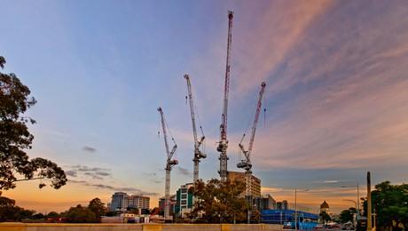 Titan cranes