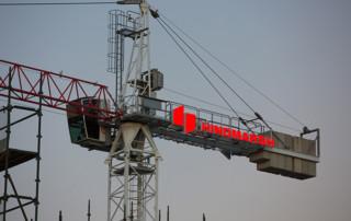 signage on cranes